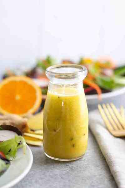 Ginger-Sesame Vinaigrette | The Real Food Dietitians | http://therealfoodrds.com/ginger-sesame-vinaigrette/