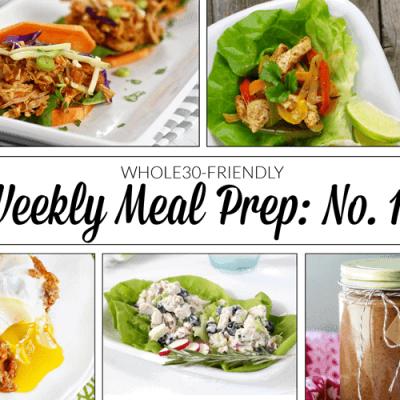 Weekly Meal Prep Menu: No. 11