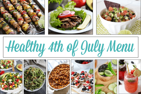 Healthy 4th of July Menu | The Real Food Dietitians | http://therealfoodrds.com/healthy-4th-of-july-menu/