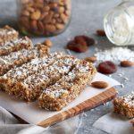 No-Bake Apricot Almond Coconut Energy Bars