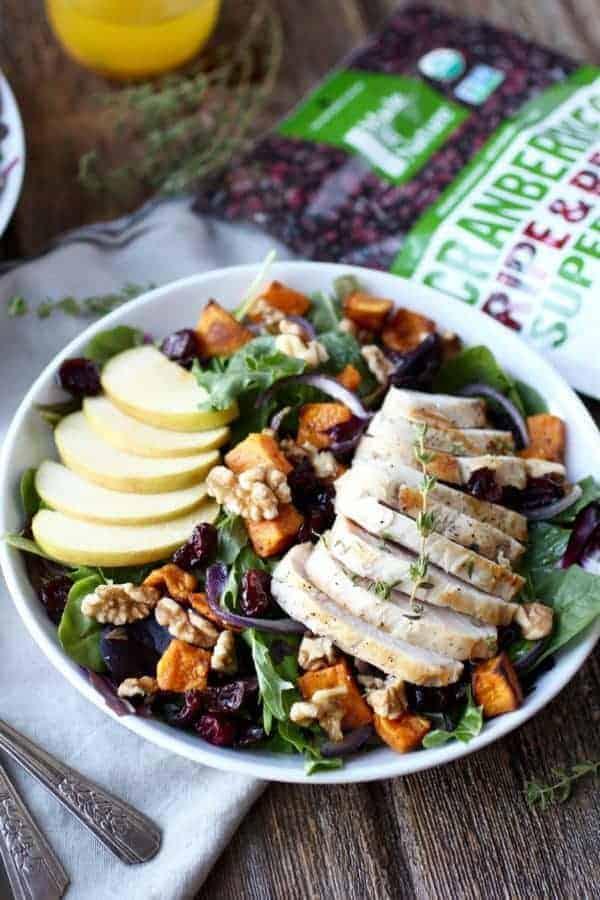 Whole30 Harvest Chicken Salad with Citrus Vinaigrette