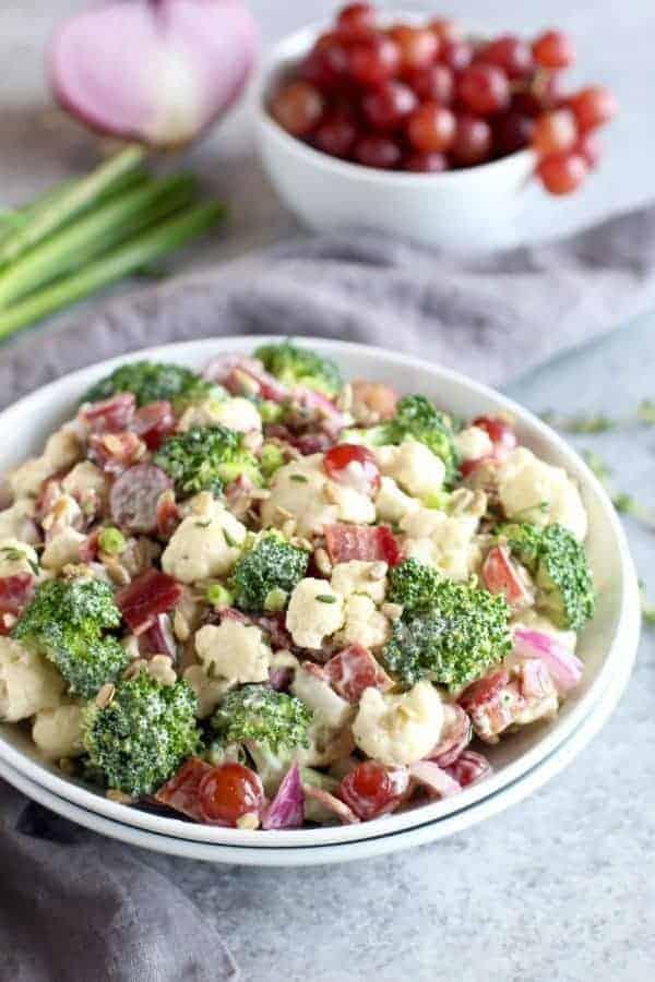Cauliflower Recipe Broccoli Amish And Salad