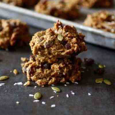 Gluten-free Pumpkin Breakfast Cookies (nut-free)