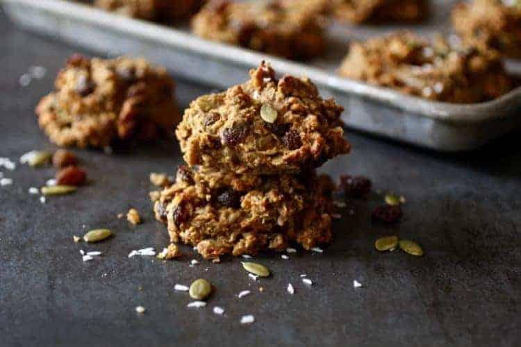 Gluten-free Pumpkin Breakfast Cookies (nut-free)