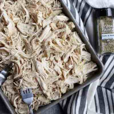 Easy Instant Pot Shredded Chicken