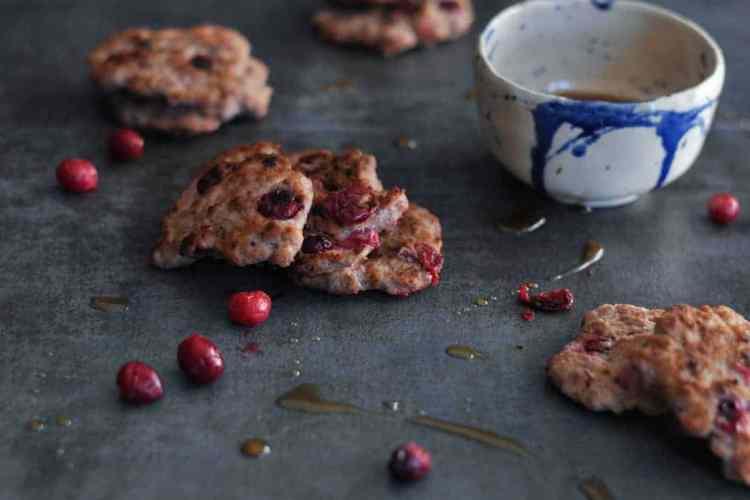 Cranberry Breakfast Sausage Patties