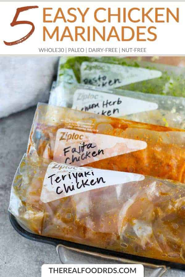 Short Pin Image for 5 Easy Chicken Marinades