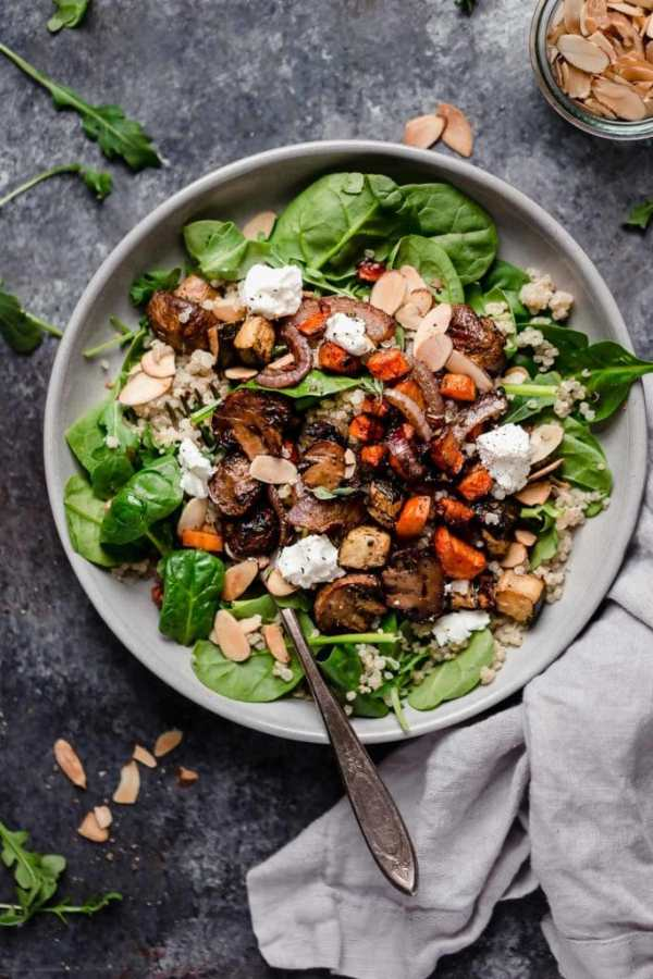 Photo of Balsamic Roasted Vegetable and Quinoa Salad - 9 Healthy Quinoa Recipes