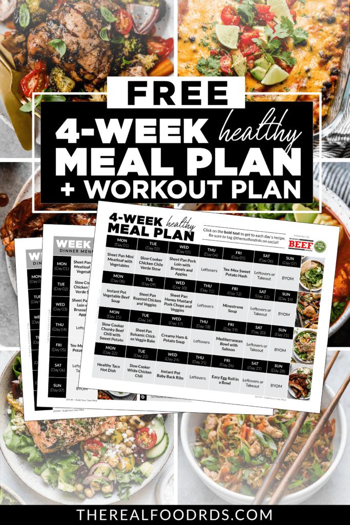 FREE 4-Week Healthy Meal Plan promo image