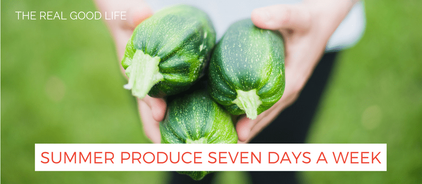 Summer Produce Seven Days A Week