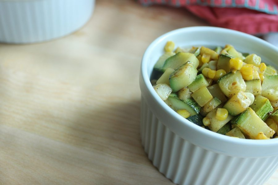 New Way To Use Zucchini and Corn