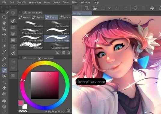 Clip Studio Paint 1.10.6 Torrent Free Download