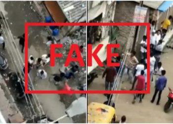 Fact Check: Viral Video from NalaSopara- Mumbai with communal spin against Muslims is FAKE