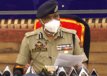 DGP greets Police personnel, Martyrs' families, people on Diwali
