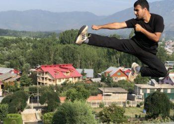 Pride of Kashmir: Sheikh Adnan Fayaz is an International Taekwondo Gold medalist from Bandipora