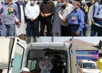 ADC Srinagar inaugurated ambulance service dedicated for patients with Chronic Kidney Disorder