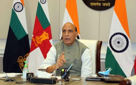 Pakistan not in position to do much after abrogation of Article 370: Rajnath Singh