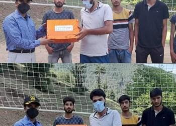 Kupwara Terriers Supports Youth Volleyball Team From Muqam Dolipora, Kupwara