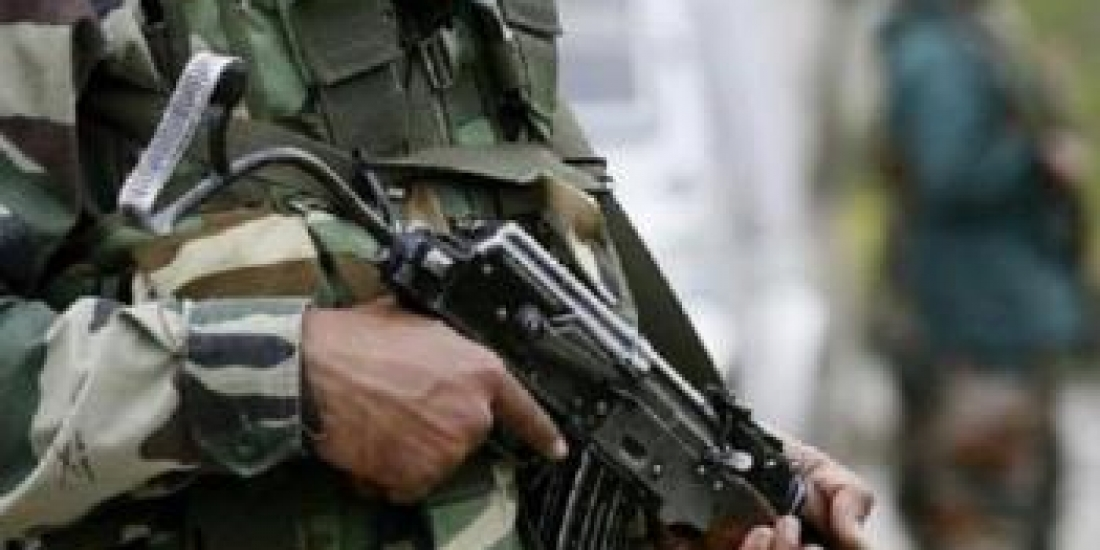 Unknown Militant snatched a Rifle from a Police Constable at Shamisipora crossing in Khudwani Kulgam