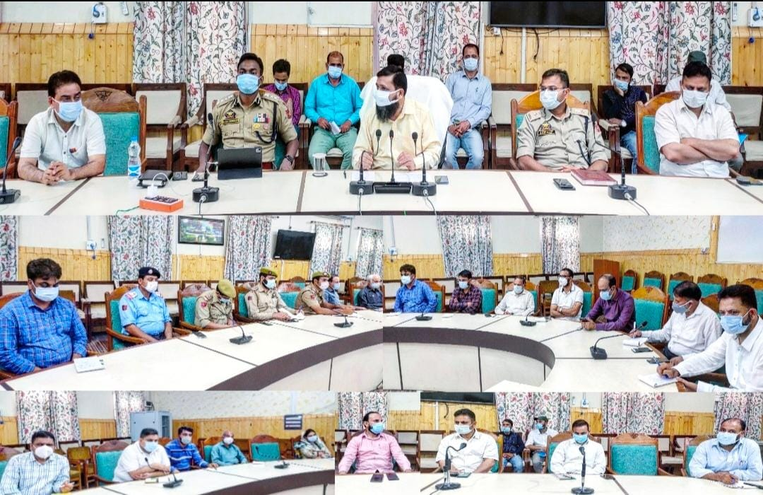DC Kupwara reviews CME, Eid Arrangements