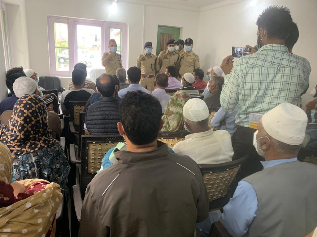 14 boys at the verge of joining militant ranks, counselled and handed over to parents in Anantnag:- Police