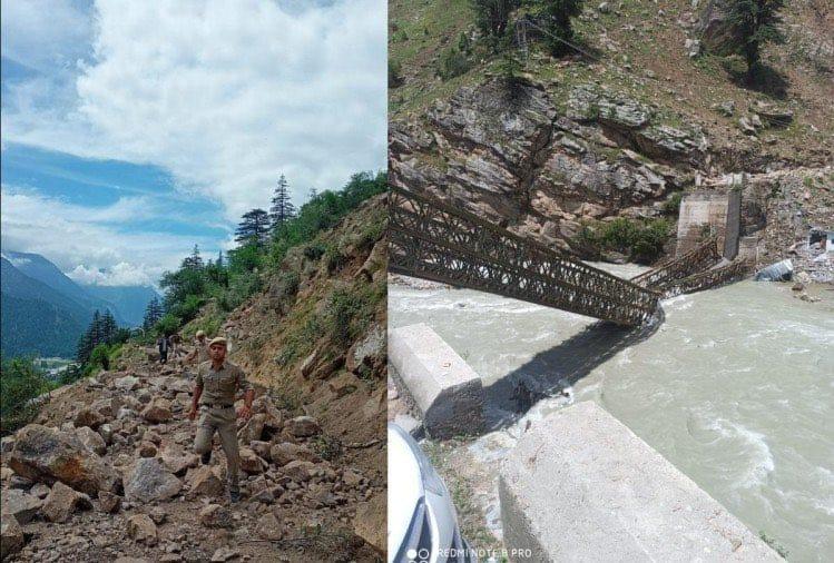 Eight dead, four injured in multiple landslides in HP''s Kinnaur district