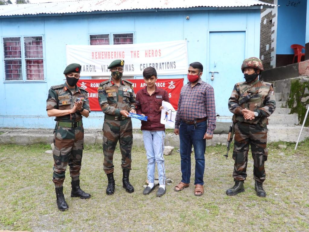 22nd Kargil Vijay Diwas was celebrated with great zeal and fervour in the remote villages of Poonch and JWG near Line of Control