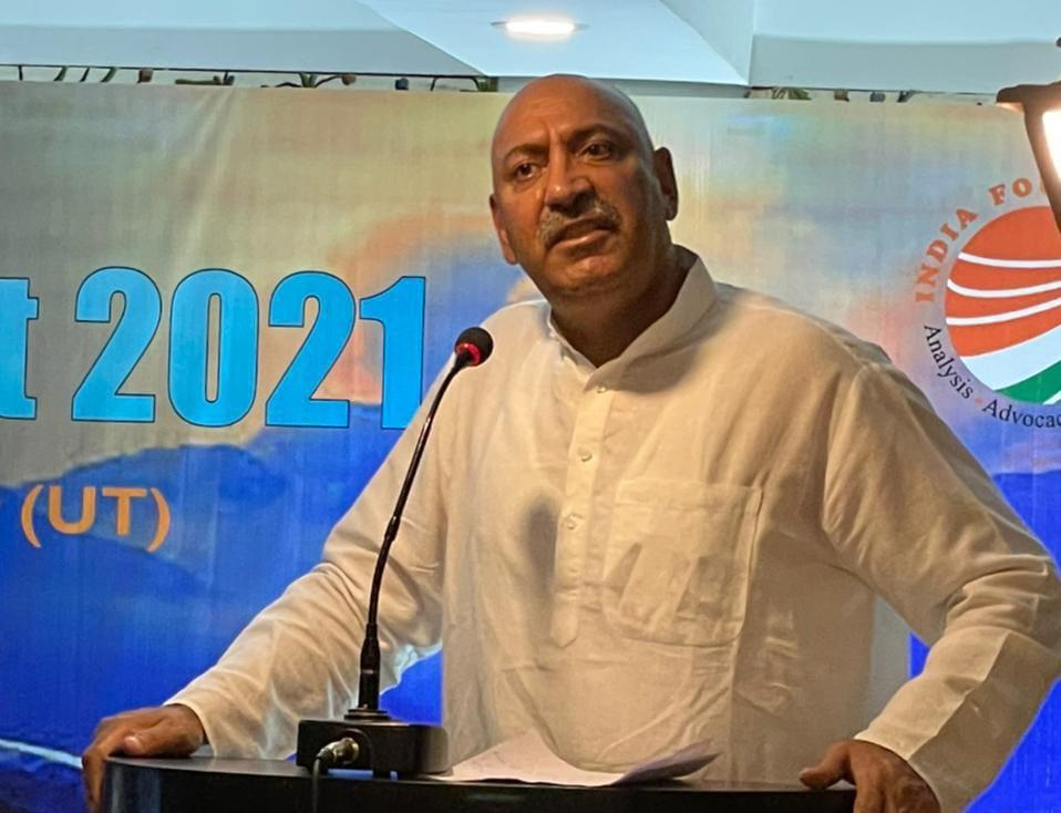 Usman Majid Seeks Compensation For Cloud Burst Affected in Bandipora.
