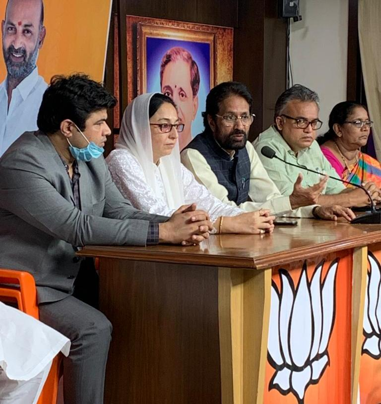 Congress & its political allies managed loot of Waqf land & assets throughout India: Dr Darakhshan