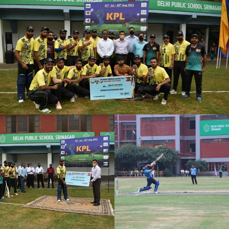 Opening Ceremony of KPL 2021 held at DPS Srinagar