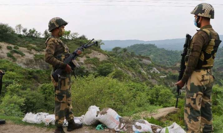 Unidentified Blinking light spotted in Kathua search operation launched