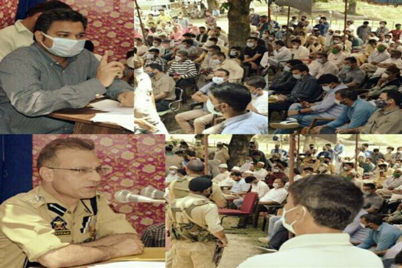 Dc Anantnag Dr. Piyush Singla calls for collective efforts to fight Drug Abuse