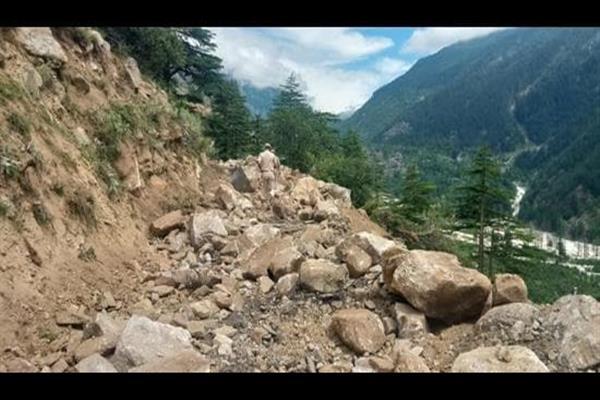 Landslide in Himachal Pradesh's Kinnaur district