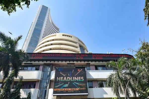 Sensex rises over 150 pts in early trade; Nifty above 16,300