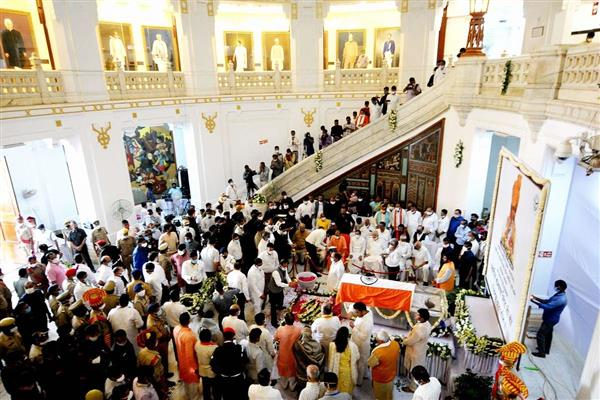 UP: Last rites of Kalyan Singh to be performed with full state honours today
