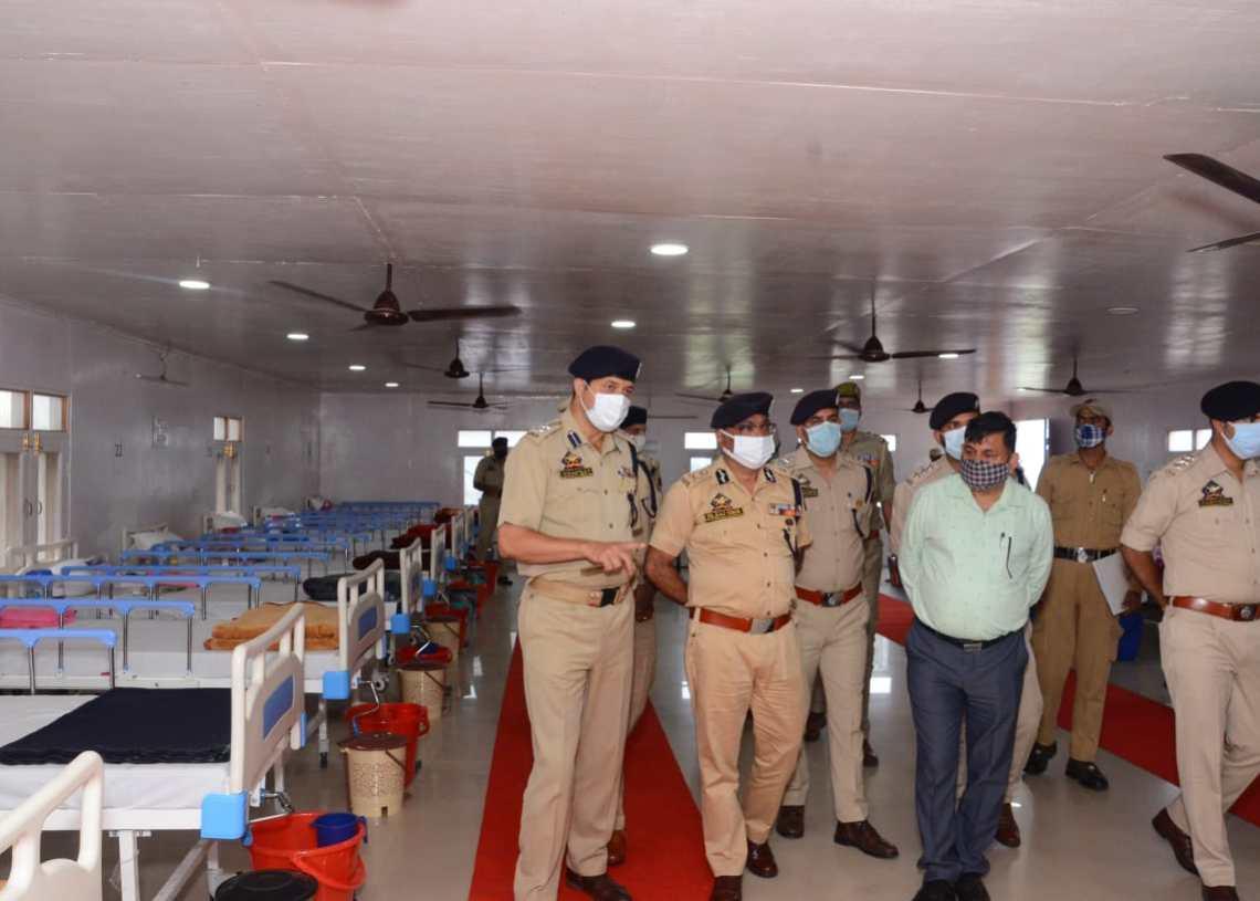 DGP J&K visits Kishtwar, Delta Force Headquarters, conducts aerial survey of flash flood hit area; Chairs officers meet at Kishtwar.