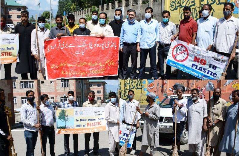 'Azad I Ka Amrut Mahotsav' Bandipora Admin launches Cleanliness drive (Swachhta Pakhwada)
