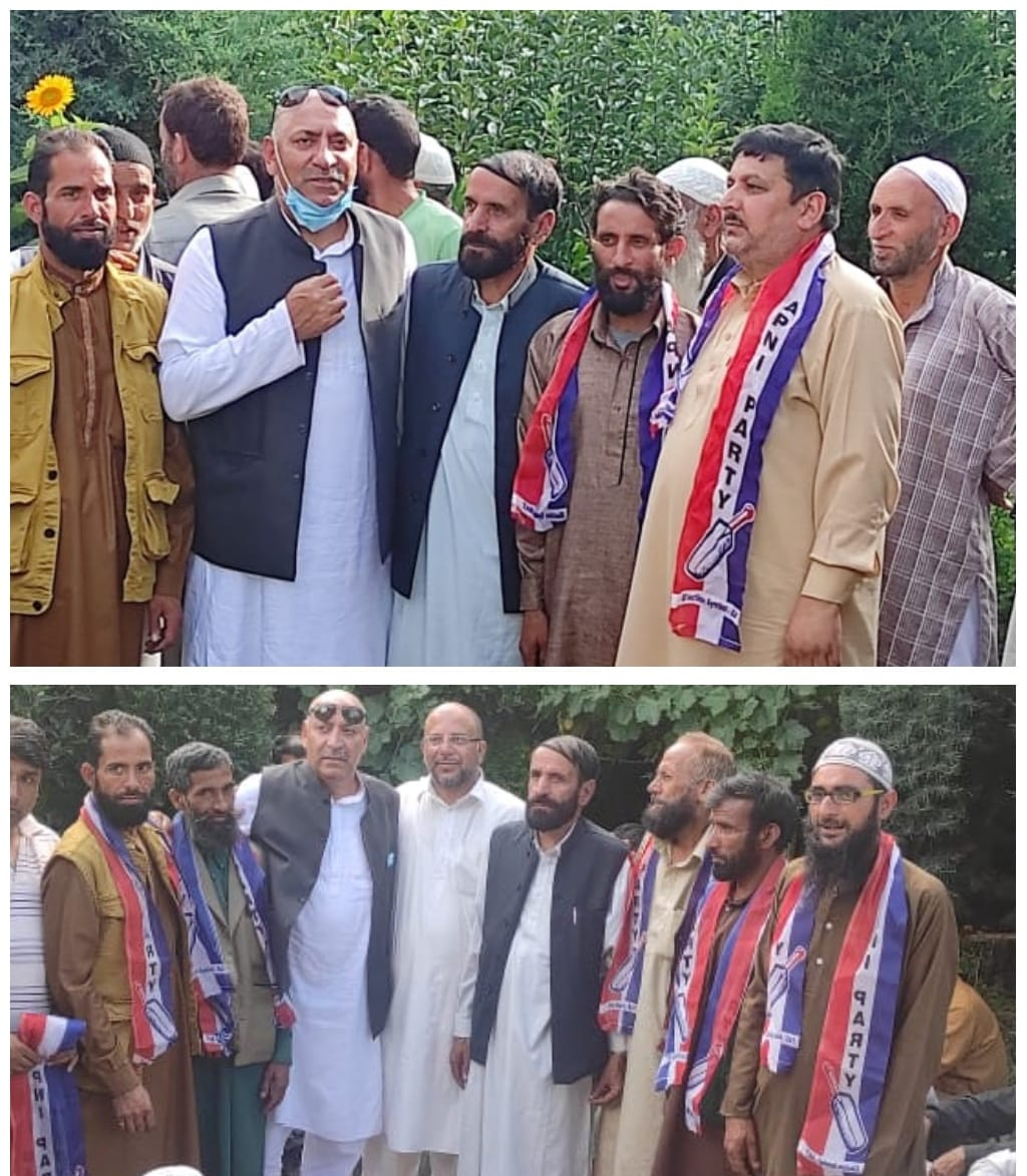 Apni Party Workers Meeting Held at Different Areas Of Bandipora.Prominent Political Activists Joins Party.
