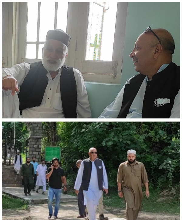 Usman Majid visits Nanga Baji (RA) shrine, takes stock of Urs arrangements.
