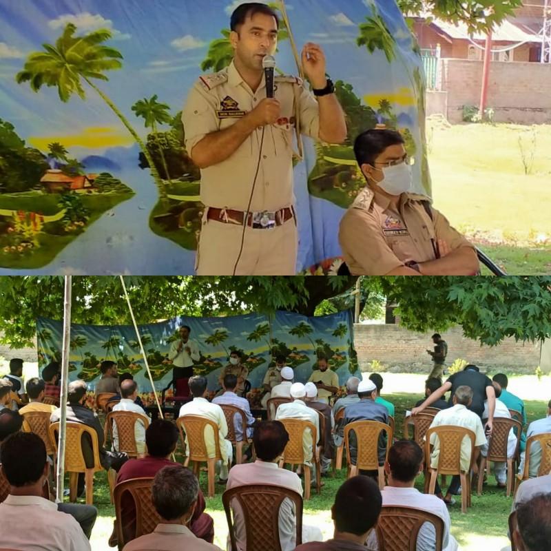 Police-public interactive meetings held in Kupwara & Bandipora