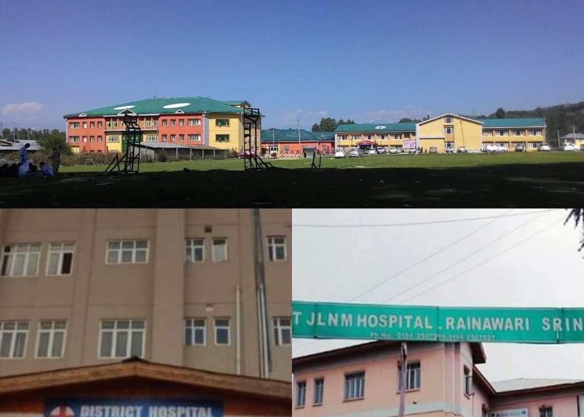 DH Baramulla, DH Bandipora and JNLM Srinagar best ranked performers in JK health institutions : Niti Aayog