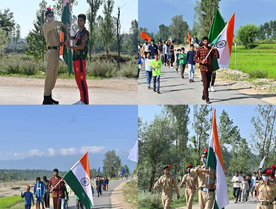 """Conduct of """"National Flag Relay"""" : 11 August 2021"""