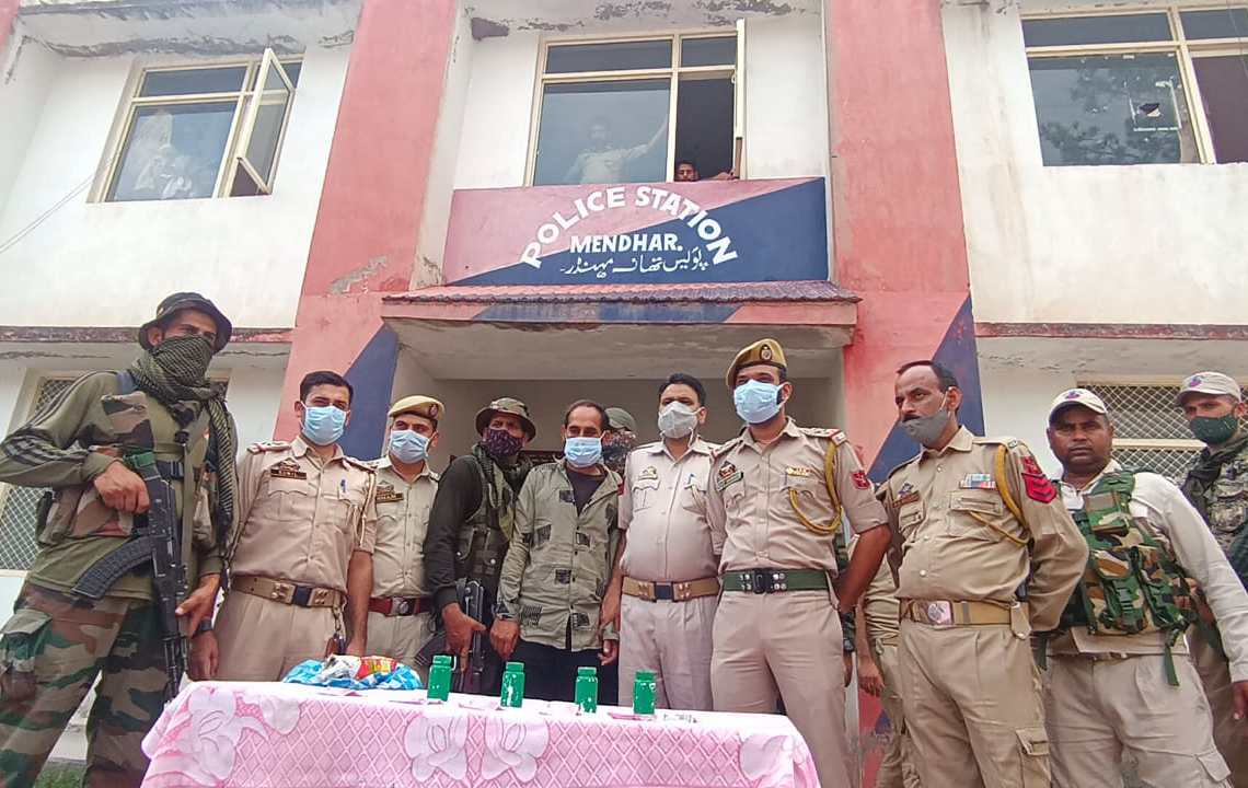 IED With 4 Sticky Bombs' Recovered In Mendhar Poonch