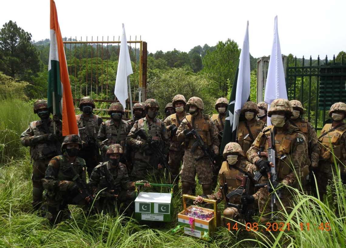 India, Pak Armies Exchange Sweets On I-Day Via Poonch