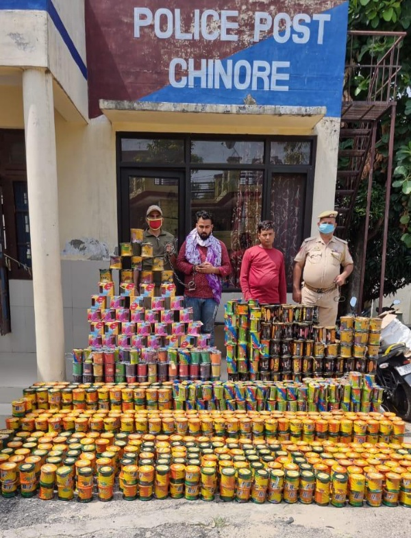 Ahead of Janmashtami, Domana Police recovered 1082 Rolls of Chinese Manja/gattu, two accused arrested