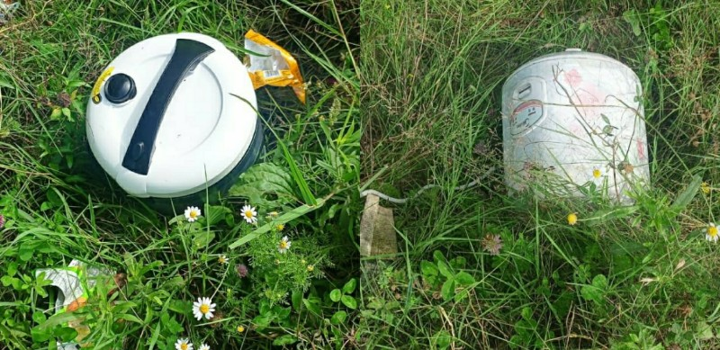 Security forces have found four suspicious rice cookers lying on Gulmarg Highway, BDS rushed to spot