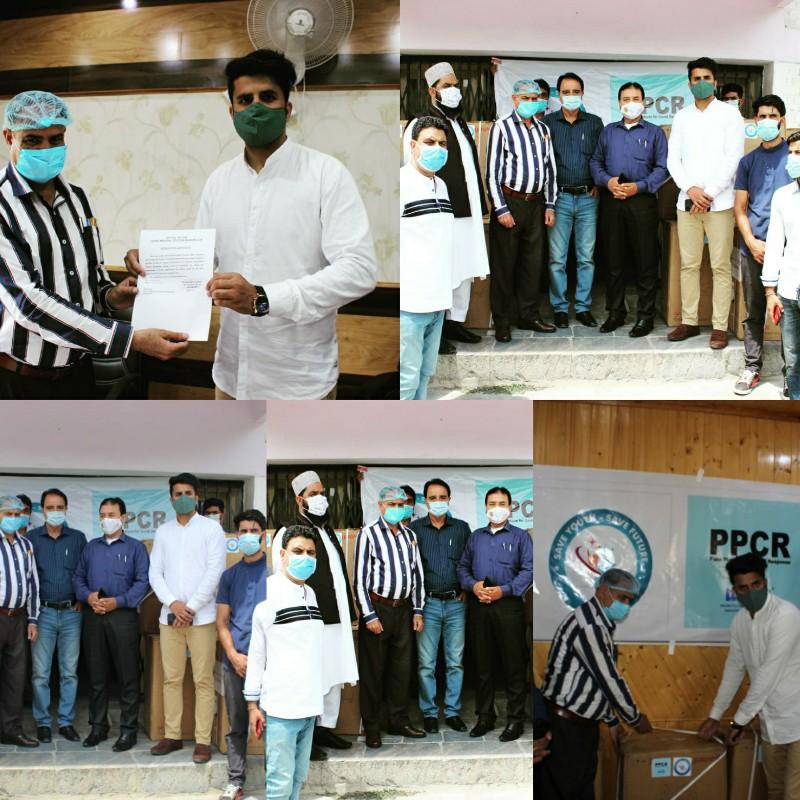 "Save Youth Save Future"" (NGO) donates Oxygen Concentrators to Baramulla Hospital."