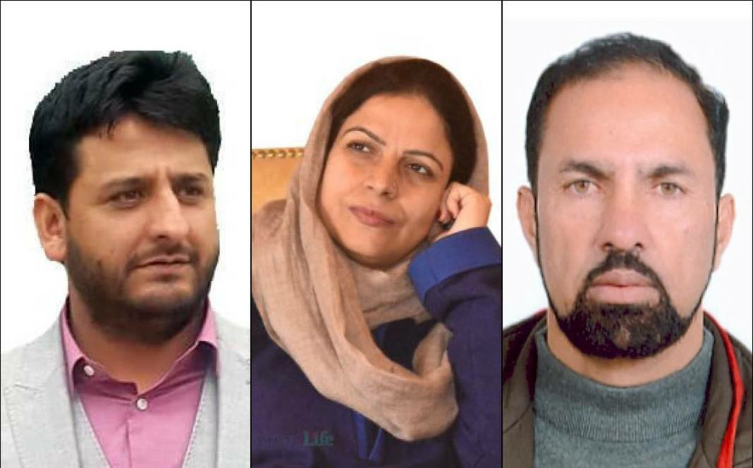 Nazir Laway, Mir Mohammad Fayaz and Safina Baig To Join PC Tomorrow