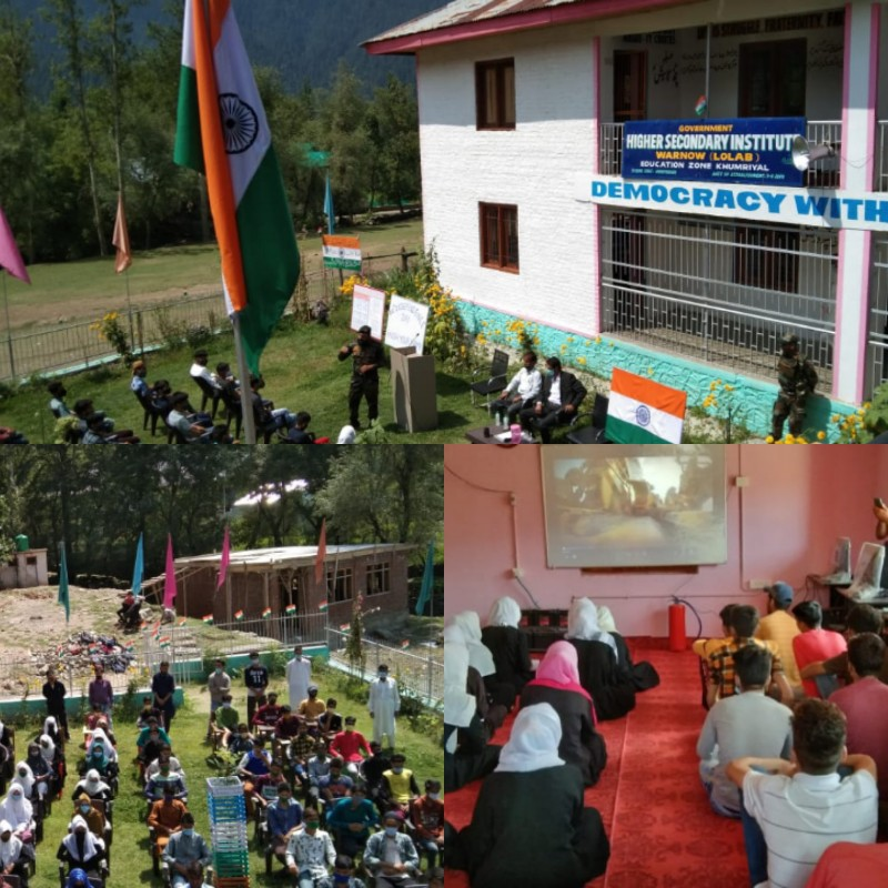 """Lolab Lions organises """"International Youth Day Celebration"""" filled with patriotism for youth of Lolab"""