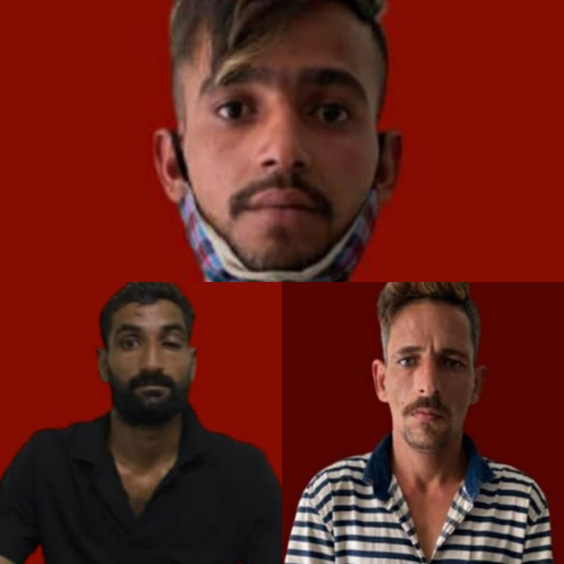 Ganja & Charas Seized; Three Arrested: REASI POLICE